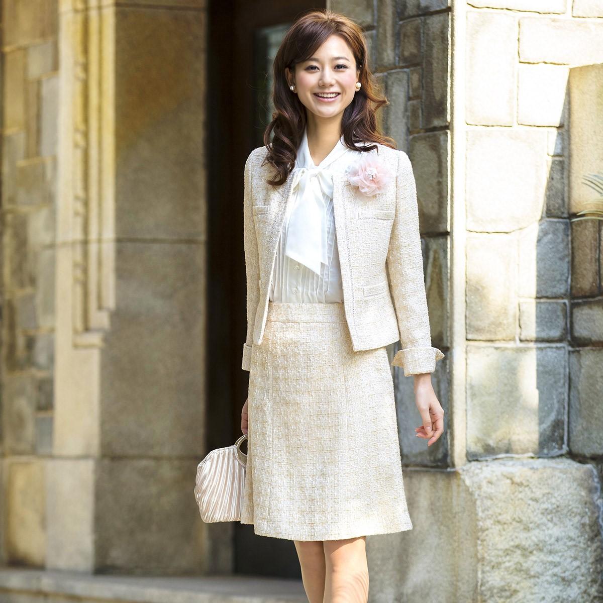 パンツ 代 40 入学 式 母親 スーツ